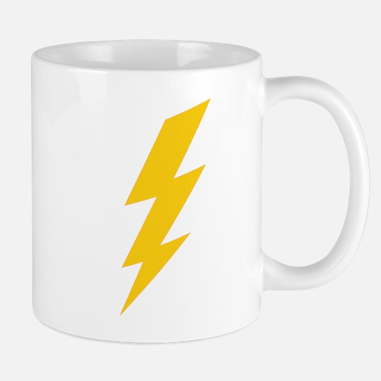 Yellow Thunderbolt Mug