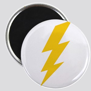 Yellow Thunderbolt Magnet