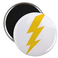 Yellow Thunderbolt Magnet