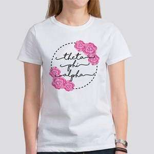 Theta Phi Alpha Women's Classic White T-Shirt