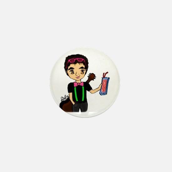 Cute Darren criss Mini Button