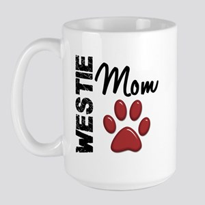 Westie Mom 2 Large Mug