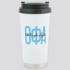 Theta Phi Alpha 16 oz Stainless Steel Travel Mug