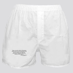Kennedy: Nation of Minutemen Boxer Shorts