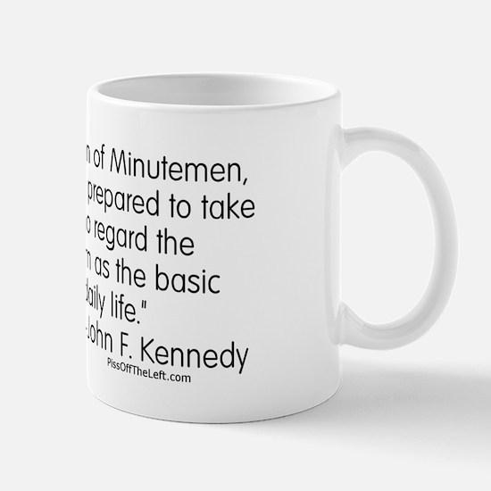 Kennedy: Nation of Minutemen Mug