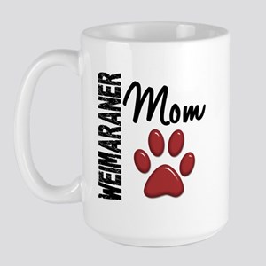 Weimaraner Mom 2 Large Mug