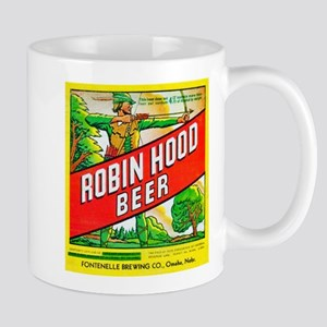 Nebraska Beer Label 5 Mug