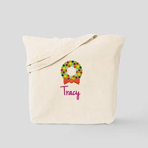 Christmas Wreath Tracy Tote Bag