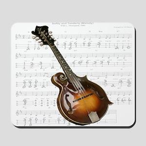 Mandolin and Sweet Music Mousepad