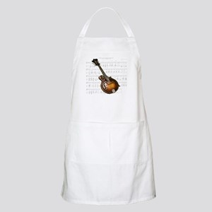 Mandolin and Sweet Music Apron