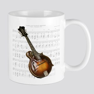 Mandolin and Sweet Music Mug