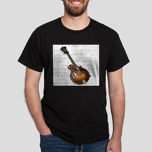 Mandolin and Sweet Music Dark T-Shirt