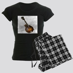 Mandolin and Sweet Music Women's Dark Pajamas