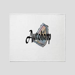 Autoharp Throw Blanket
