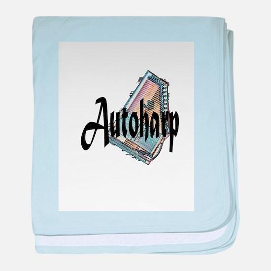 Autoharp baby blanket