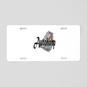 Autoharp Aluminum License Plate