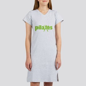 Green Ink Pilates Women's Nightshirt