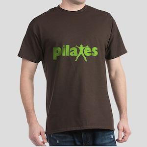 Green Ink Pilates Dark T-Shirt