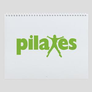 Green Ink Pilates Wall Calendar