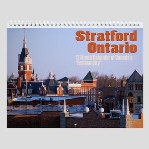 Stratford, Ontario Wall Calendar