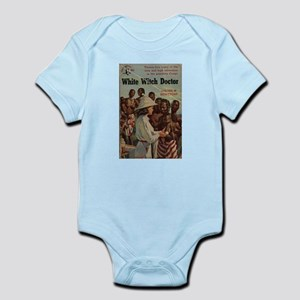 White Witch Doctor Infant Creeper