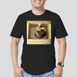 Room for Two Men's Fitted T-Shirt (dark)