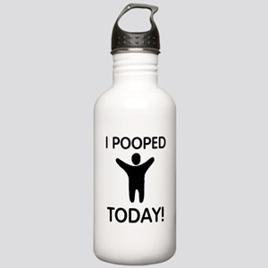 I Pooped Today Stainless Water Bottle 1.0L