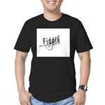Fiddle Men's Fitted T-Shirt (dark)