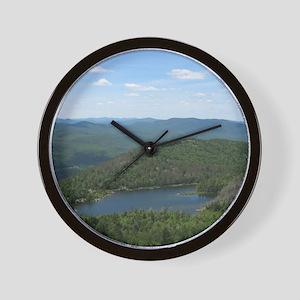 Crane Mtn Pond (from summit) Wall Clock