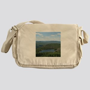 Crane Mtn Pond (from summit) Messenger Bag