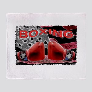 boxing Throw Blanket