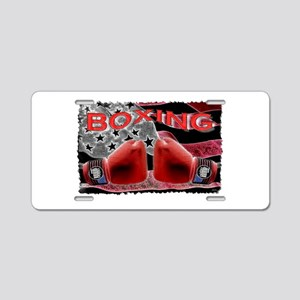 boxing Aluminum License Plate