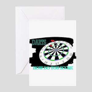 darts Greeting Card