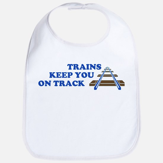 Trains On Track Bib