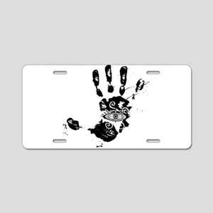 Hand of Fatima Aluminum License Plate