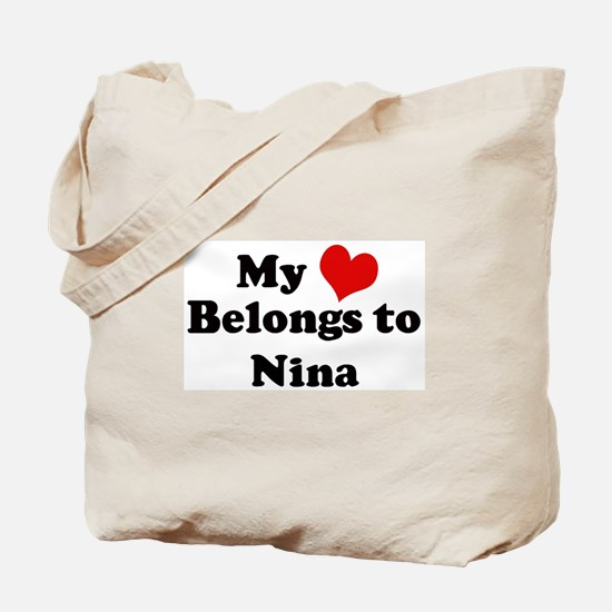 My Heart: Nina Tote Bag