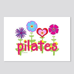 Green Ink Pilates Postcards (Package of 8)