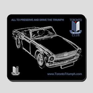 Toronto Triumph Club TR6 Mousepad