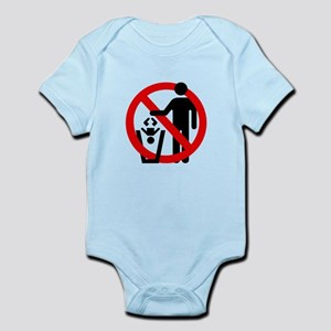No Trashing Babies Infant Bodysuit