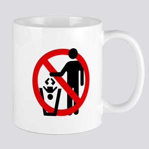 No Trashing Babies Mug