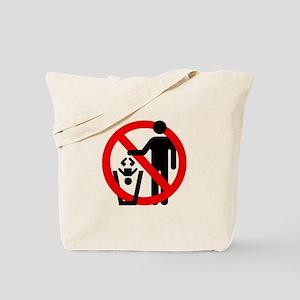 No Trashing Babies Tote Bag