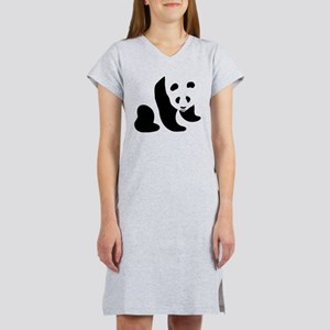 Panda Bear Women's Nightshirt