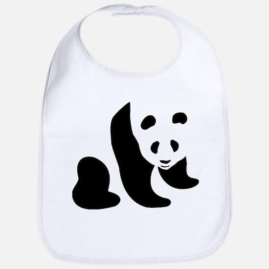 Panda Bear Bib