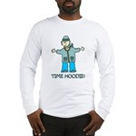 Time Hoodie Long Sleeve T-Shirt