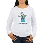 Time Hoodie Women's Long Sleeve T-Shirt