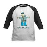Time Hoodie Kids Baseball Jersey