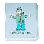 Time Hoodie baby blanket