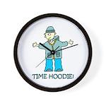 Time Hoodie Wall Clock