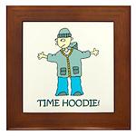 Time Hoodie Framed Tile