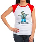 Time Hoodie Women's Cap Sleeve T-Shirt